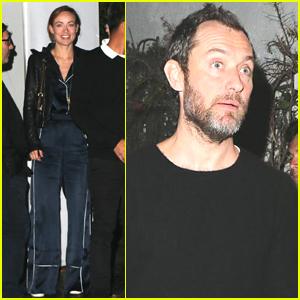 Olivia Wilde & Jude Law Attend 'Darkest Hour' Screening in LA