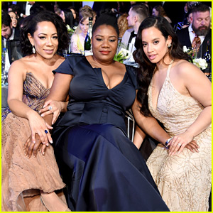 Dascha Polanco, Selenis Leyva, & More 'Orange' Cast Members Attend SAG Awards 2018!
