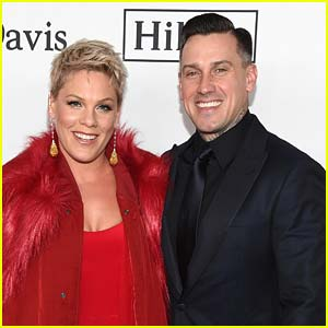Pink's Husband Has a Message for Any Wildfire Looters...
