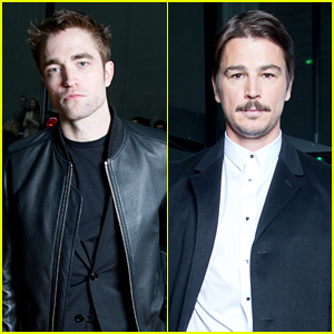 Robert Pattinson & Josh Hartnett Support Dior's Paris Show