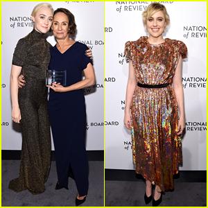 Lady Bird's Saoirse Ronan Honors Laurie Metcalf at NBR Awards 2018!