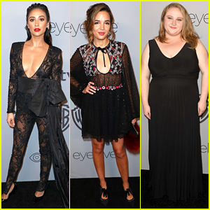 Shay Mitchell & Georgie Flores Stun at InStyle's Golden Globes After Party 2018