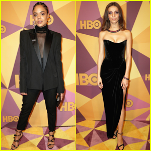 Tessa Thompson & Angela Sarafyan Join 'Westworld' Co-stars at HBO's Golden Globes After Party 2018!