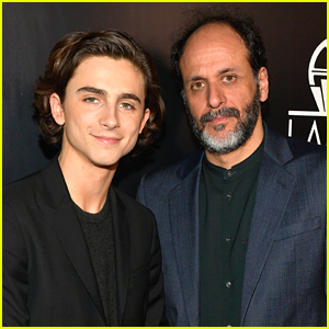 Timothee Chalamet Joins 'Call Me By Your Name' Director Luca Guadagnino at Critics Association Awards