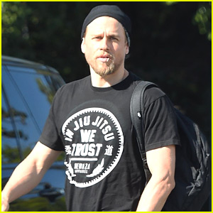 Charlie Hunnam Looks Buff Heading to Rehearsal in L.A.