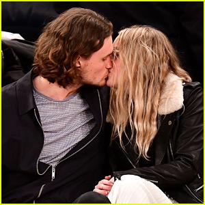 Dakota Fanning Shares Courtside Kiss with Boyfriend Henry Frye