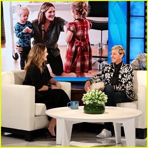 Drew Barrymore Recreates Her Younger Self on 'Ellen' - Watch Now!