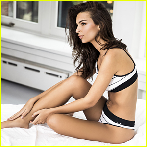 Emily Ratajkowski Gets Sexy In Underneathmydkny Campaign Video