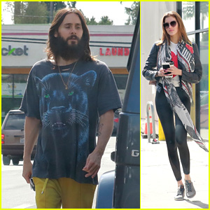 Jared Leto Hits the Gym With Valery Kaufman in LA!