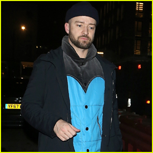 Justin Timberlake Enjoys a Night Out in London Ahead of BRITs!