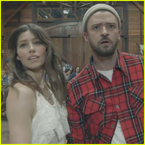 Justin Timberlake Dances with Wife Jessica Biel in 'Man of the Woods' Video - Watch Now!