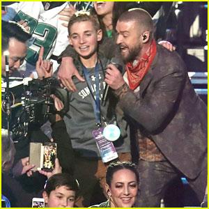 Justin Timberlake's Super Bowl Selfie Kid Shares His Photo!