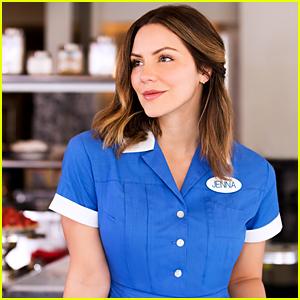 Katharine McPhee as Jenna in Broadway's 'Waitress' - First Look!