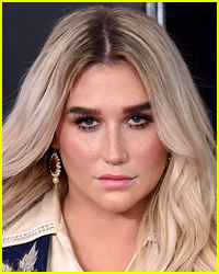 Kesha Takes a Tumble On Stage, Recovers Like a Total Pro!