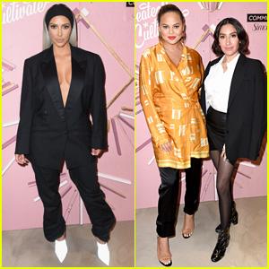 Kim Kardashian, Chrissy Teigen, & More Stars Attend Create & Cultivate Conference!