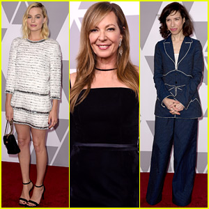 Margot Robbie, Allison Janney, & Sally Hawkins Join More Stars at Oscar Nominees Luncheon