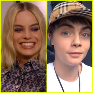 Margot Robbie's Heart Races For Cara Delevingne - Watch Now!
