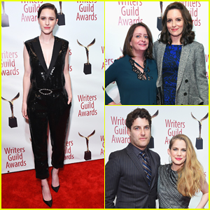 Rachel Brosnahan, Tina Fey & More Hit Stage at Writers Guild Awards 2018!