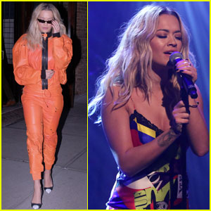 Rita Ora Performs 'Anywhere' on 'Late Night' - Watch Now!