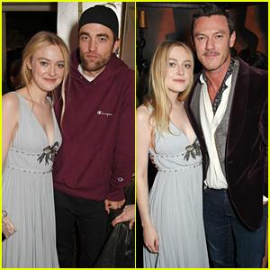 Robert Pattinson & Luke Evans Support Dakota Fanning at Her Short Film Premiere!