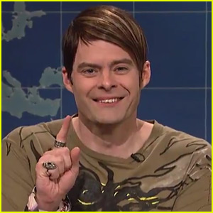 Bill Hader Breaks Character as Stefon on 'SNL' - Watch!