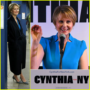 Cynthia Nixon Gets Stuck on NYC Subway En Route to Talk About the Subways