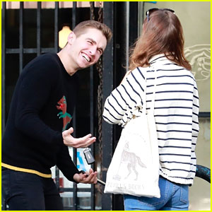 Dave Franco Grabs Lunch with a Famous Friend!