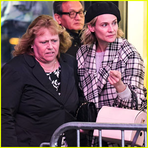 Diane Kruger Treats Her Mom to a Night on Broadway!
