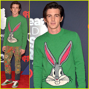 Drake Bell Wears Bugs Bunny Sweater to iHeartRadio Music Awards 2018