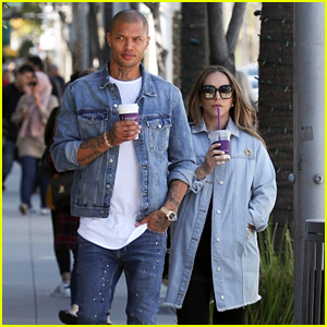 Jeremy Meeks & Chloe Green Match in Denim Outfits While on a Coffee Date!