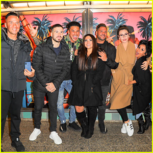 The Jersey Shore Cast Live It Up At Family Vacation Premiere Party Chad Johnson Deena