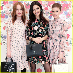 Kate Bosworth & Kate Mara Put Victoria Justice Into a 'Kate Sandwich'