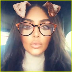 Kim Kardashian Says Goodbye to Blonde Hair, Debuts New Brunette Look!