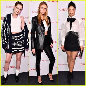 Kristen Stewart, Stella Maxwell & Tessa Thompson Celebrate Chanel Beauty House Launch!