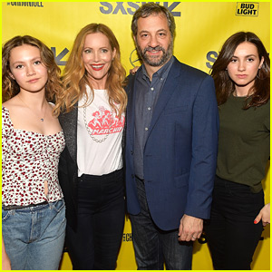 Leslie Mann & Judd Apatow are Joined by Daughters at 'Blockers' Premiere!