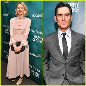 Naomi Watts Supports Rumored Boyfriend Billy Crudup at 'Harry Clarke' Opening Night