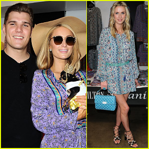 Paris Hilton & Chris Zylka Support Nicky Hilton at Clothing Line Launch Party!