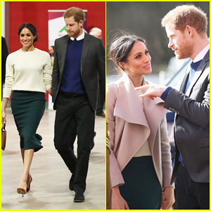 Prince Harry & Meghan Markle Make a Surprise Visit to Nothern Ireland!