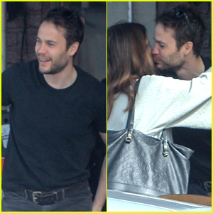 Taylor Kitsch Grabs Lunch with Female Friend in Hollywood!