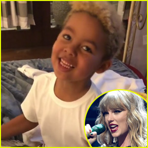 Taylor Swift Sends Amber Rose's Son Sebastian VIP Tickets to Her Show - Watch His Reaction!