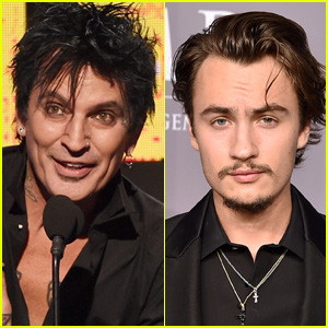 422590612d Tommy Lee Reportedly Transported to Hospital After Bloody Fight With His  Son Brandon · Tommy Lee   Brittany Furlan Are ...