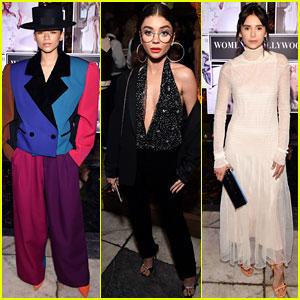 Zendaya, Sarah Hyland, & Nina Dobrev Rock Fierce Looks at Vanity Fair's Women in Hollywood Event