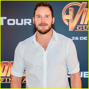 Chris Pratt Reunites with 'Guardians of the Galaxy' Co-Star During 'Avengers: Infinity War' Brazil Press Tour!