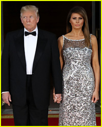 Donald & Melania Trump Hold Hands After Their Awkward Moment