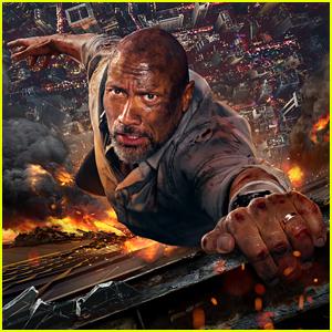 Dwayne 'The Rock' Johnson Hangs on Tight in New 'Skyscraper' Poster!