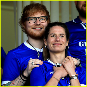 Ed Sheeran Cuddles Fiancee Cherry Seaborn in Cute New Photos!