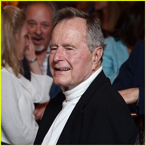 Former President George H.W. Bush in Intensive Care Following Barbara Bush's Funeral
