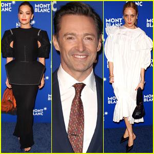 Hugh Jackman Joins Rita Ora & Chloe Sevigny at MontBlanc Event in NYC