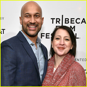 Keegan-Michael Key & Fiancee Elisa Pugliese Couple Up at 'Cargo' Screening