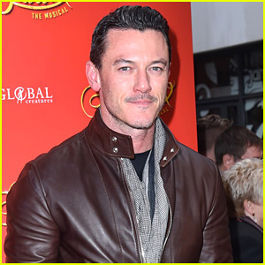 Luke Evans Looks So Handsome at 'Strictly Ballroom' Opening in London!